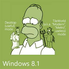 Homer and Windows 8.1