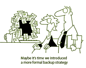 Backup Strategy Joke