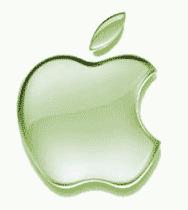Apple Logo - Green