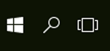 Windows 10 New Taskbar Buttons