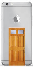 iPhone with Back Door