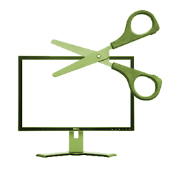 Scissors and Screen