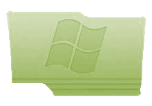 Green Windows Folder