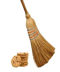 Sweep cookies away