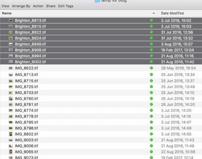 File Renaming on a Mac - Figure 2