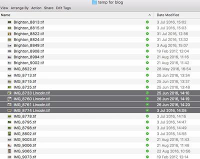 File Renaming on a Mac - Figure 4