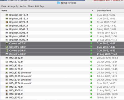 File Renaming on a Mac - Figure 6