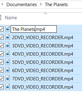 Multiple File Renaming - Figure 2