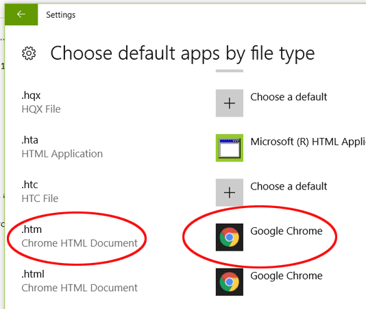 windows 10 how to choose default programs