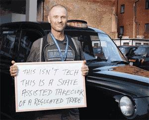 Cabbie against Uber