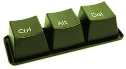 Ctrl alt delete keys