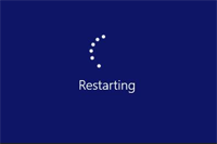 Windows Restarting Screen