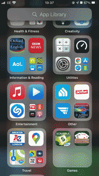 iPhone App Library